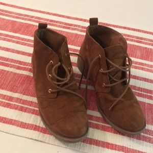 Forever 21: size 7: mini booties!